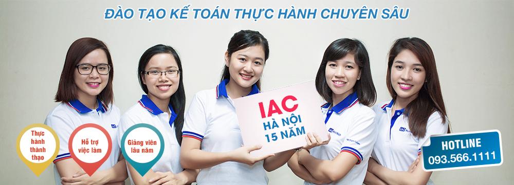 Đào tạo kế toán thực hành IAC