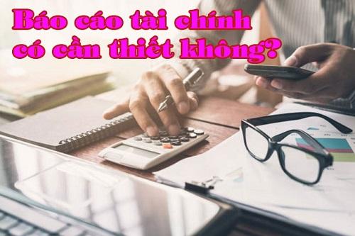 Có nên thuê dịch vụ làm báo cáo tài chính không?