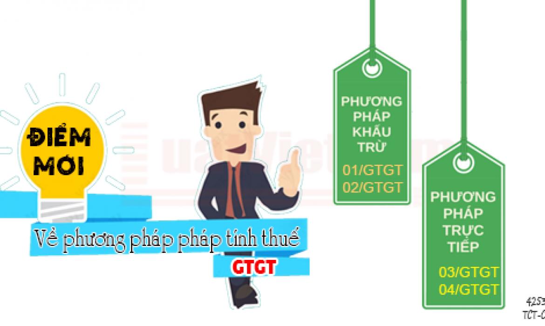Điểm mới về đăng ký phương pháp tính thuế GTGT
